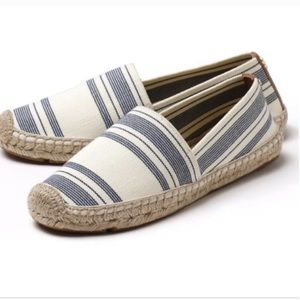 NEW! Tory Burch. Vacation stripes espadrilles